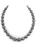 10-12mm Tahitian South Sea Pearl Drop-Shape Necklace