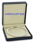 10-12mm White South Sea Pearl Necklace - Fourth Image