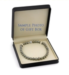 10-12mm Silver Tahitian South Sea Pearl Necklace- AAAA Quality - Third Image