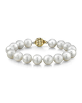 11-12mm White South Sea Pearl Bracelet - Model Image