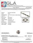 13-14mm Tahitian Multicolor Pearl Necklace - AAAA Quality - Secondary Image