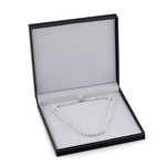 7.0-7.5mm White Freshwater Pearl Necklace - AAA Quality - Third Image