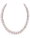 7.0-7.5mm Pink Freshwater Pearl Necklace - AAA Quality