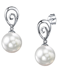South Sea Pearl Autumn Earrings