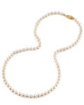 5.0-5.5mm Japanese Akoya White Pearl Necklace- AA+ Quality - Third Image