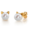 Freshwater Pearl Cathy Earrings - Third Image