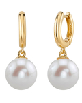 Freshwater Pearl Mary Earrings - Secondary Image