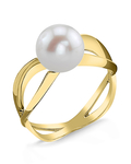 Freshwater Pearl Lana Ring - Model Image