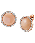 Pink Mother of Pearl Darcie Earrings