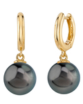 Tahitian South Sea Pearl Mary Earrings - Secondary Image