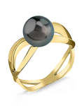 Tahitian South Sea Pearl Lana Ring - Secondary Image
