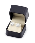 11mm South Sea Pearl Stud Earrings- Choose Your Quality - Fourth Image