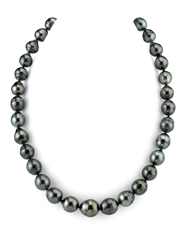 10-13mm Tahitian South Sea Baroque Pearl Necklace