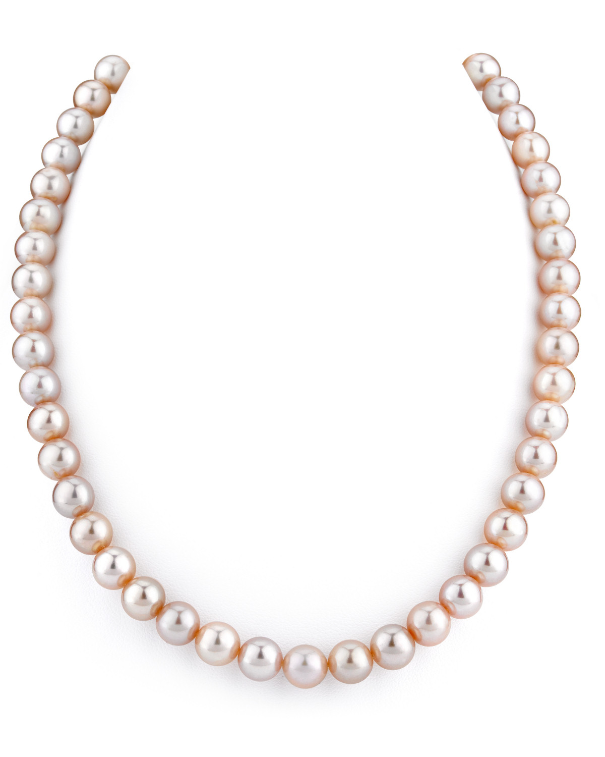 e8592ed63 8-9mm Pink Freshwater Pearl Necklace - AAAA Quality
