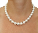 10-12mm White South Sea Pearl Necklace - Secondary Image