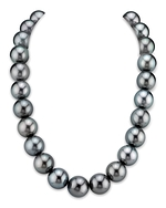 CERTIFIED 15-16.6mm Tahitian South Sea Pearl Necklace