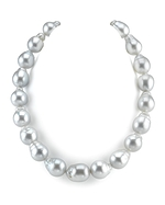 CERTIFIED Massive 15-16.9mm South Sea Baroque Pearl Necklace