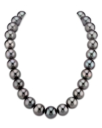 CERTIFIED 14-16mm Tahitian South Sea Pearl Necklace - AAAA Quality
