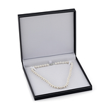 11-12mm White Freshwater Pearl Necklace - Third Image