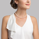 6.0-6.5mm Japanese Akoya Pearl Necklace & Earrings - Third Image