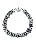 7-10mm Tahitian South Sea Keshi Pearl Bracelet