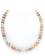 8-9mm Freshwater Multicolor Pearl Necklace