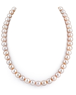 8-9mm Pink Freshwater Pearl Necklace