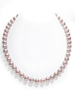 9-10mm Pink Freshwater Pearl Necklace