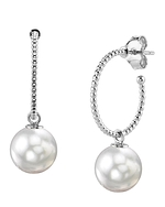 White South Sea Pearl Isabella Earrings