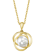 White South Sea Pearl Lexi Pendant - Secondary Image