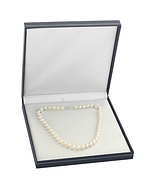 7-8mm White Freshwater Pearl Double Strand Necklace - Secondary Image