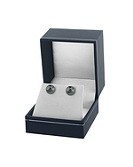 9mm Tahitian South Sea Pearl Stud Earrings- Various Colors - Fourth Image