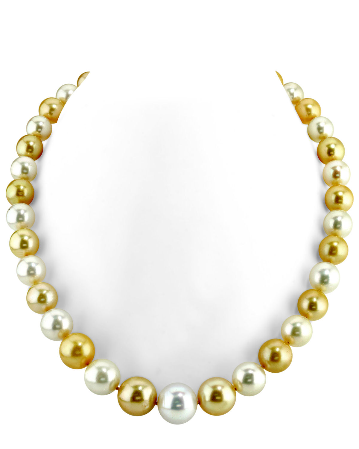 10-13mm South Sea Multicolor Pearl Necklace