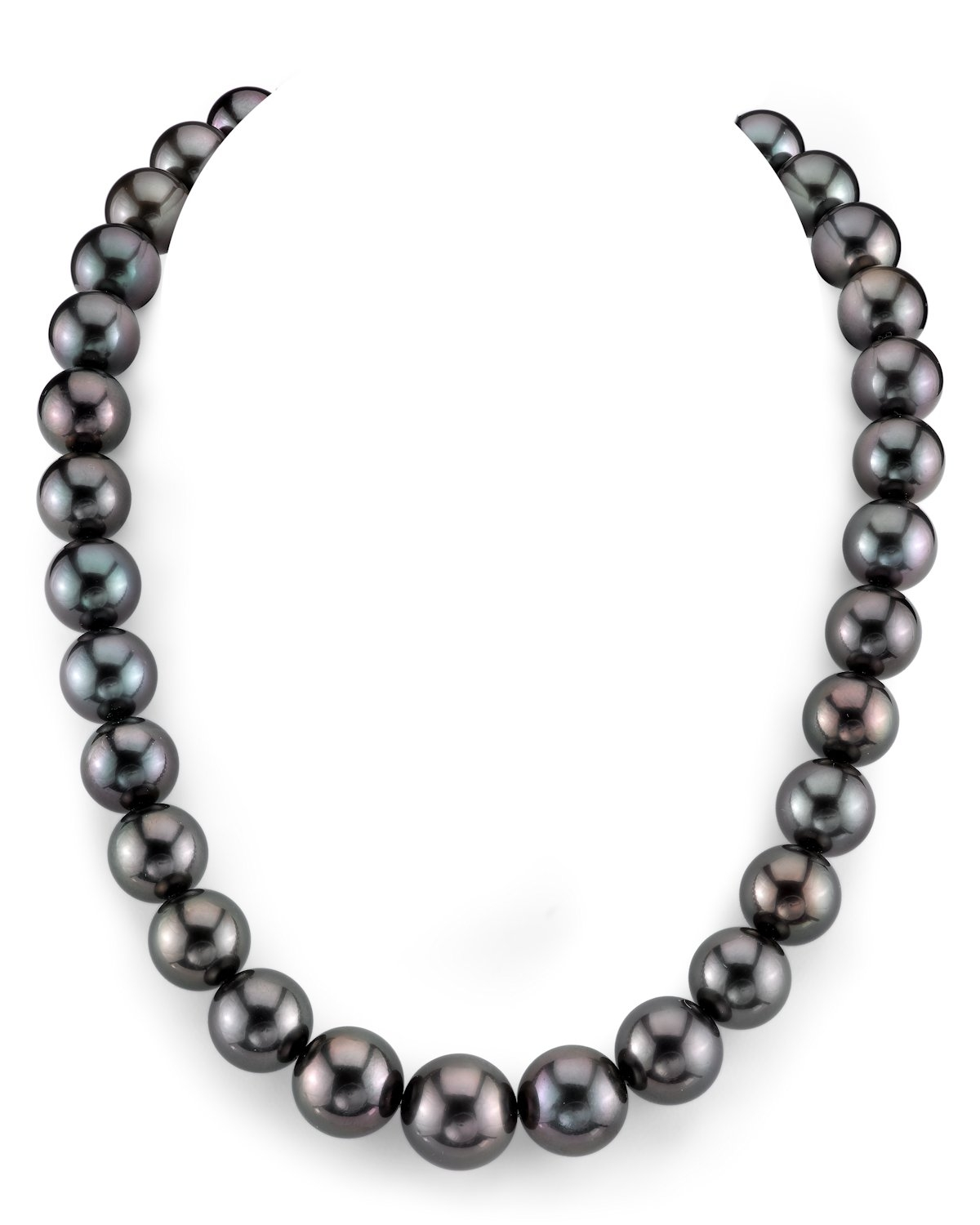 12-15mm Tahitian South Sea Pearl Necklace - AAAA Quality