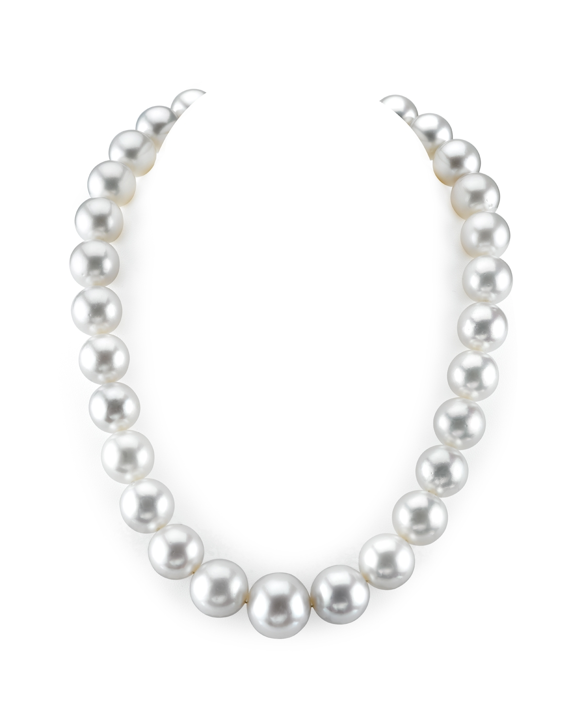 14-18.4mm White South Sea Pearl Necklace