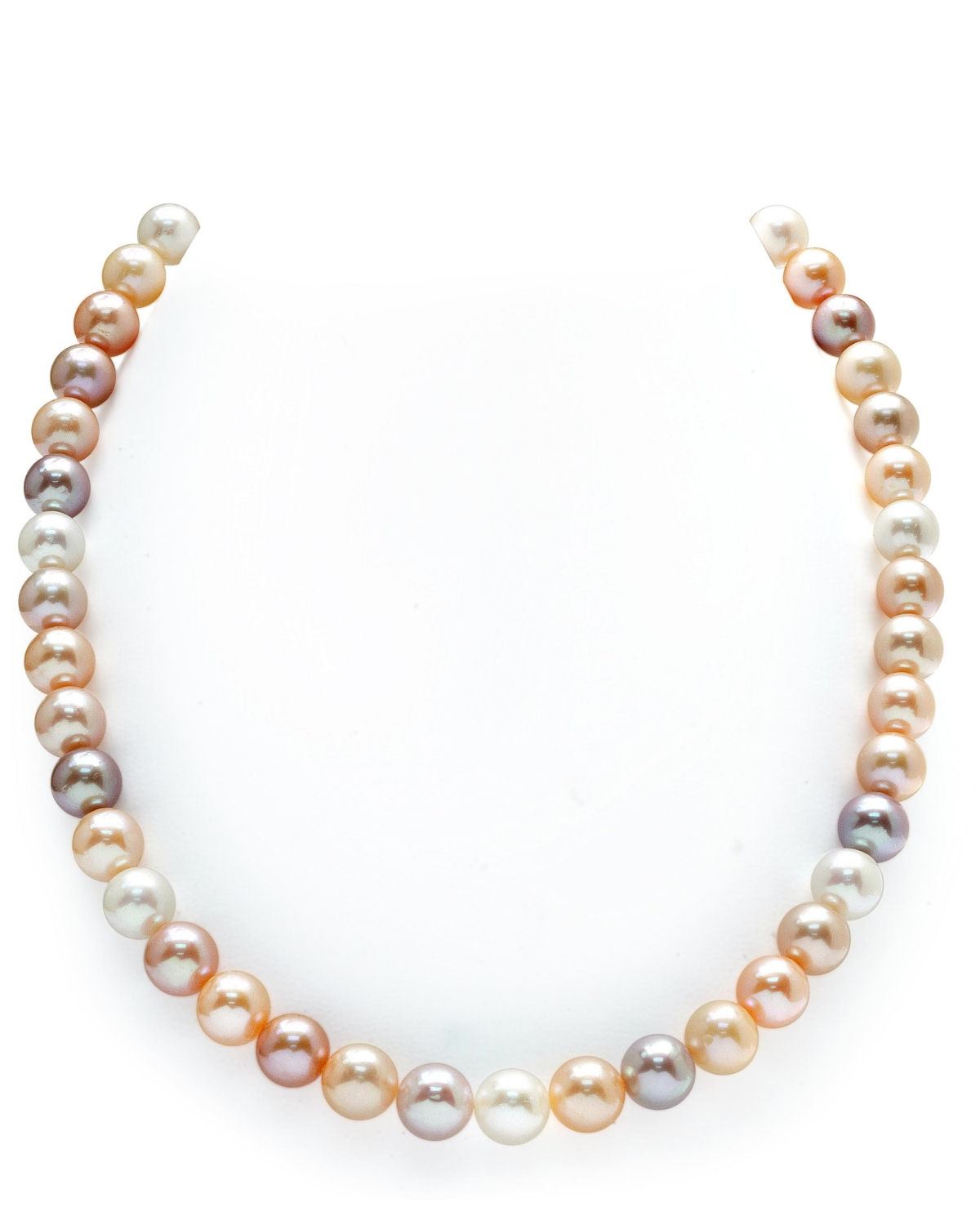 9-10mm Freshwater Multicolor Pearl Necklace