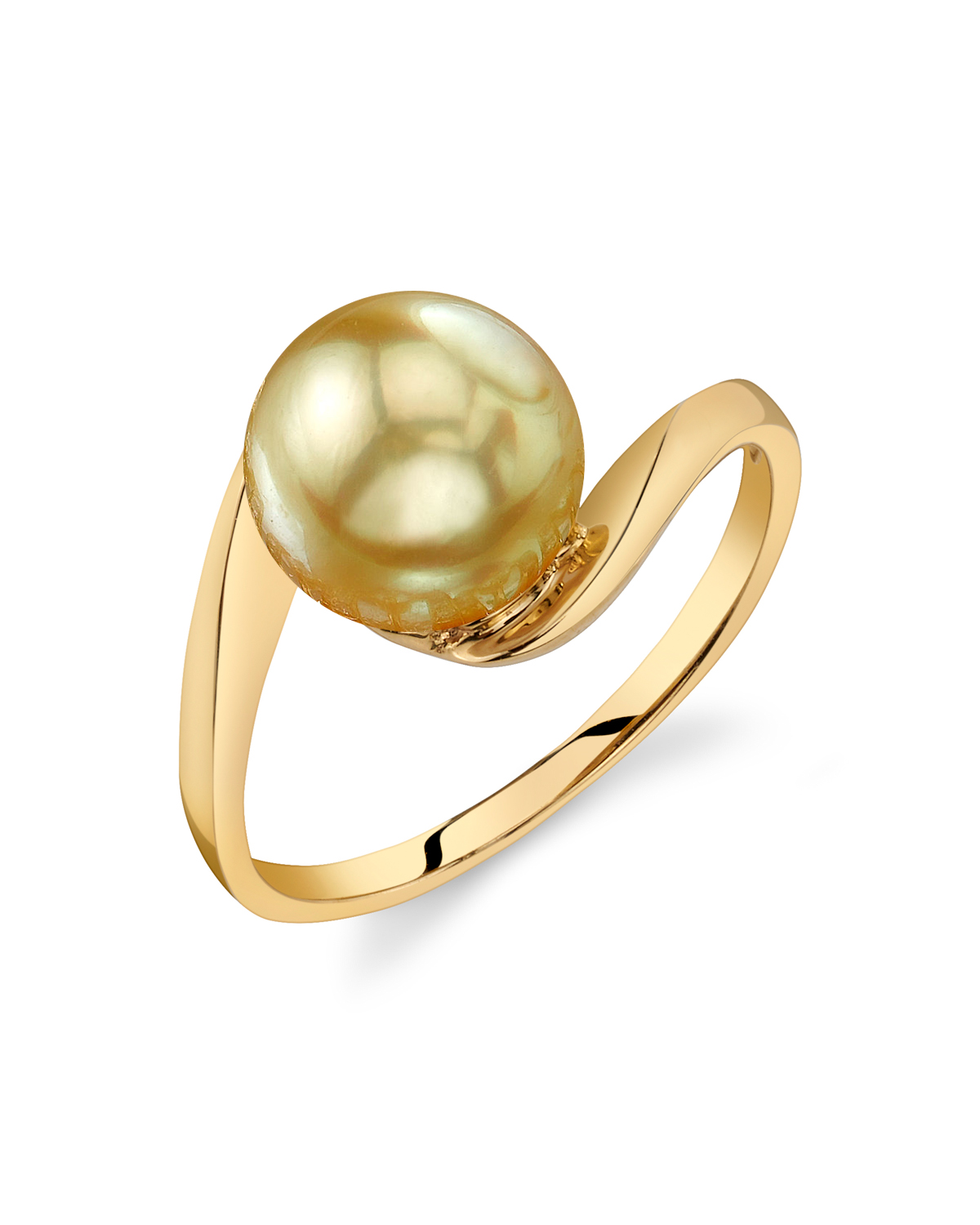 Golden South Sea Pearl Felice Ring